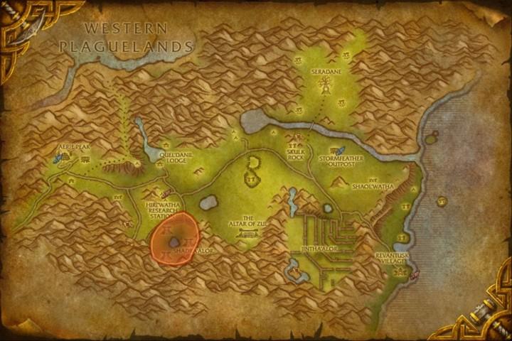 WoWdigs - Aerie Peak Digsite - Eastern Kingdoms - The Hinterlands ...